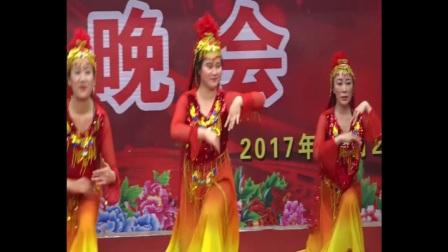 2018年元旦河津市人民医院财务科舞蹈--火花