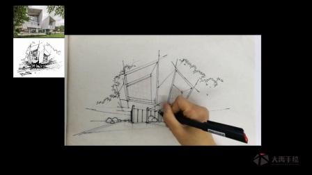 大禹手绘建筑快速表现3——少轩(加快)