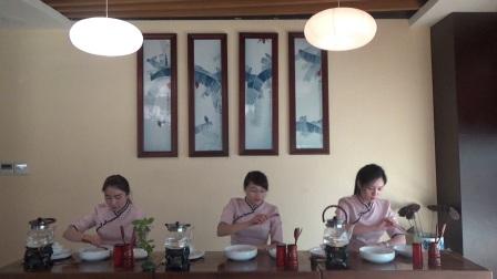 天晟茶艺培训第138期7号8号9号安溪茶艺表演考核