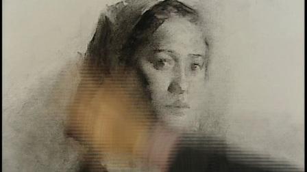 4冉茂芹素描女肖像
