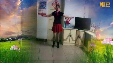 桂林香妹广场舞水兵舞巜今生只爱你一个》编舞:华美