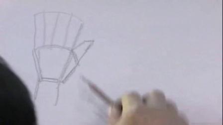 画速写的步骤 教你画动漫人物的全身 素描基础培训开班啦