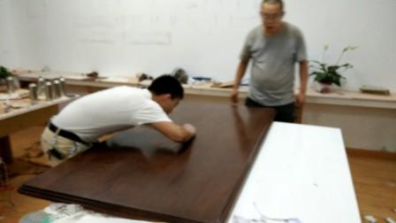 家具维修培训 桌面通裂修复