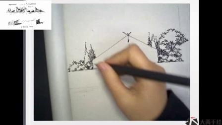 大禹手绘建筑快速表现6——少轩(加快版)