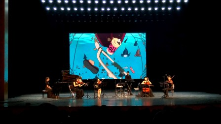 宫崎骏音乐会《悬崖上的金鱼姬》现场录制