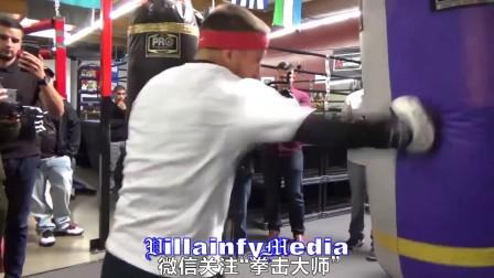拳击大师:洛马琴科的沙袋训练