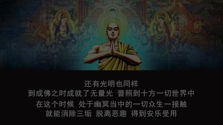 佛说无量寿经 第二十七讲(智圆法师.讲授)