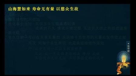 佛说无量寿经 第十七讲(智圆法师.讲授)