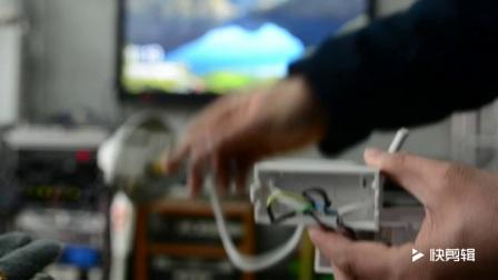电动幕布遥控器的接线方法 山东影音联盟