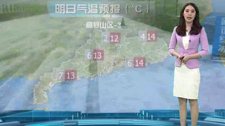 20180109广东卫视天气预报