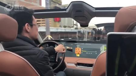拜腾concept试驾:开全球最大屏幕汽车是怎样的体验