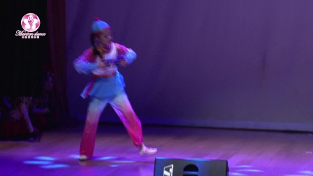 曼森童谣舞蹈独舞《小当家》