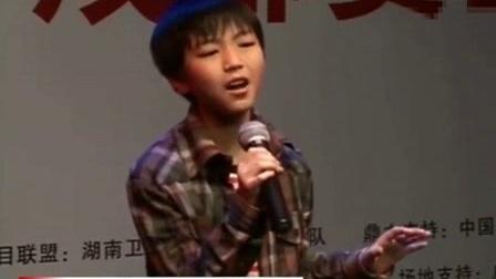 20120531   王俊凯 向上吧少年 成都赛区 囚鸟