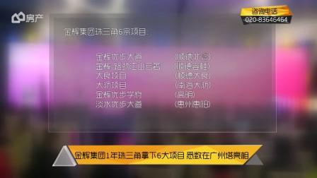 金辉集团1年珠三角拿下6大项目 系数在广州塔亮相