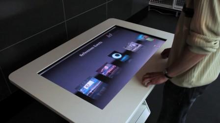 商超导览 展厅导览互动屏