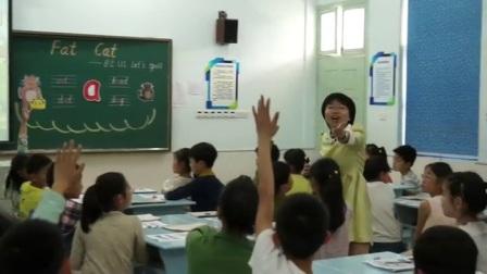 人教版英語三下第一單元《Let's spell》課堂教學視頻實錄-任潔