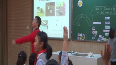 人教版英語五上第五單元《Let's learn Let's play》課堂教學視頻實錄-薛海東