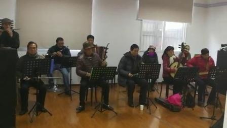 201801111器乐采花.友谊社区红色旋律艺术团