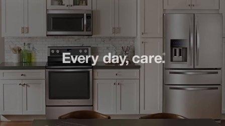 CES2018 惠而浦防指纹不锈钢智能厨房套装 Kitchen Suite in Fingerprint Resistant Stainless Steel