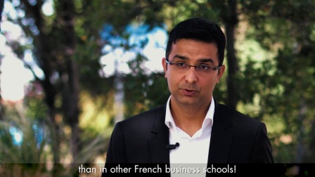 Sandeep, international student (Executive MBA) at Montpellier Business School
