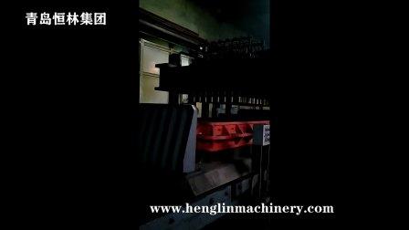 青岛恒林集团:双工位穿梭式车桥专用高压造型机