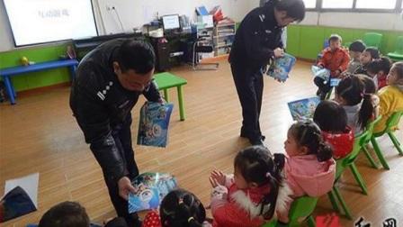 株洲石峰交警进幼儿园开展安全宣传活动