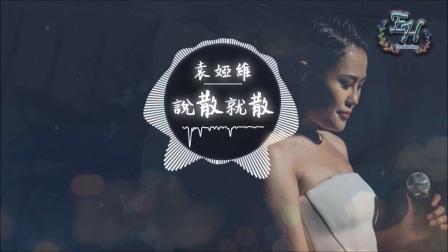 袁娅维 -说散就散《前任3:再见前任》主题曲【动态歌词Lyrics】