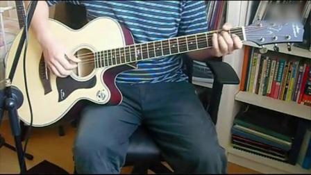 五月天《拥抱》吉他教学(含吉他谱)