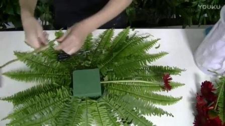 生日花束包装- 花艺视频