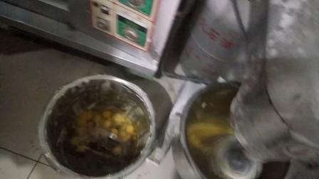 台湾正宗南瓜无水蛋糕配方及做法倒炉视频教学