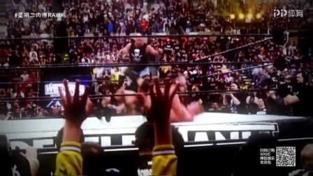 WWE-18年-RAW 高柏当选首位2018年WWE名人堂选手-花絮