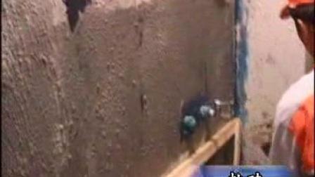 【房屋装修施工工艺装饰视频】17贴砖实录之卫生间墙砖铺贴(上)