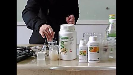 纽崔莱蛋白质粉产品演示
