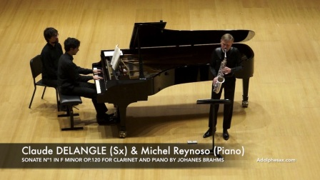 Claude DELANGLE - SONATE Nº1 IN F MINOR
