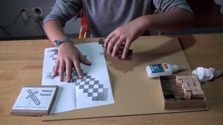 MC动画-MC的DIY系列-木剑-Máquinas de Madeira