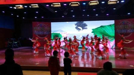 寿光市羊口镇花儿舞蹈《鱼儿欢歌》艺体中心元旦表演