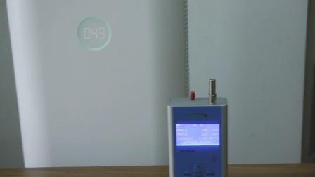 锤子畅呼吸空气净化器PM2.5测试