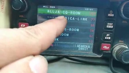 FT400D-C4FM在电台端远程切换房间@BG4IAJ MMDVM