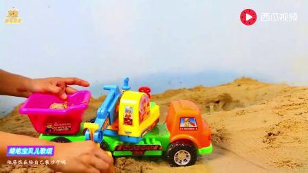 儿童益智小卡车、铲车、挖掘机、吊车、拖拉机玩具