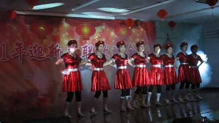 舞蹈《军中姐妹》2011年麟游县联通公司汇演