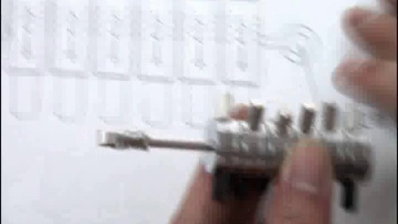 HuK福特蒙迪欧、捷豹汽车锁读开二合一工具视频教程