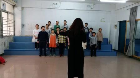 20180120合唱初级班汇报课《悬崖上的金鱼姬》