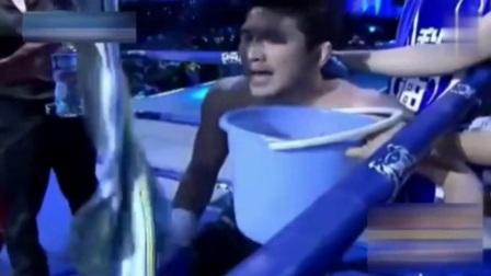 """日本拳王赛前辱骂方便, """"死神""""狂怒暴揍KO, 打得对手没脸回国"""