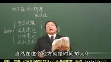 人教版九年级语文下册陶秀琪名师课堂全20讲-地下森林断想人生 1116 1