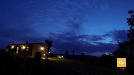 40urs托斯卡纳05:过一天乡村慢生活 游泳喂马夕阳美景与美食