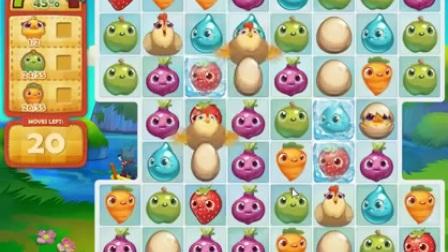Farm Heroes Saga Level 195