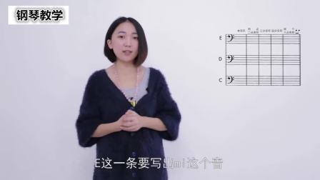 钢琴学习视频钢琴指法教学粉刷匠五线谱