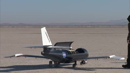 NASA 黑科技 空中折翼