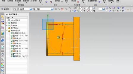 ug nx10.0零件设计视频教程7.1 阀座箱体