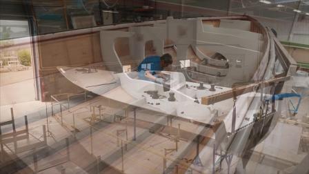 博纳多帆船 - 费加罗博纳多3建造过程(Figaro Beneteau 3)